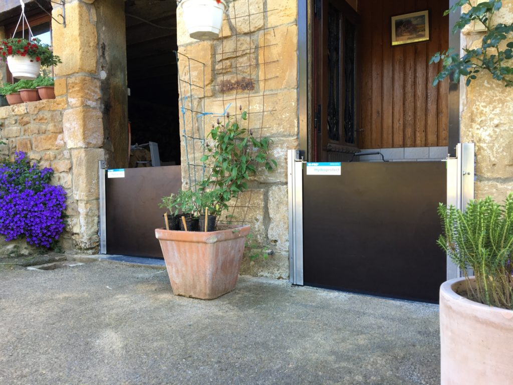batardeau porte installation