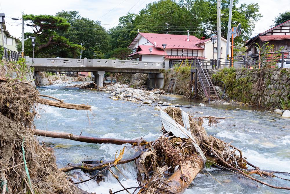 inondation japon