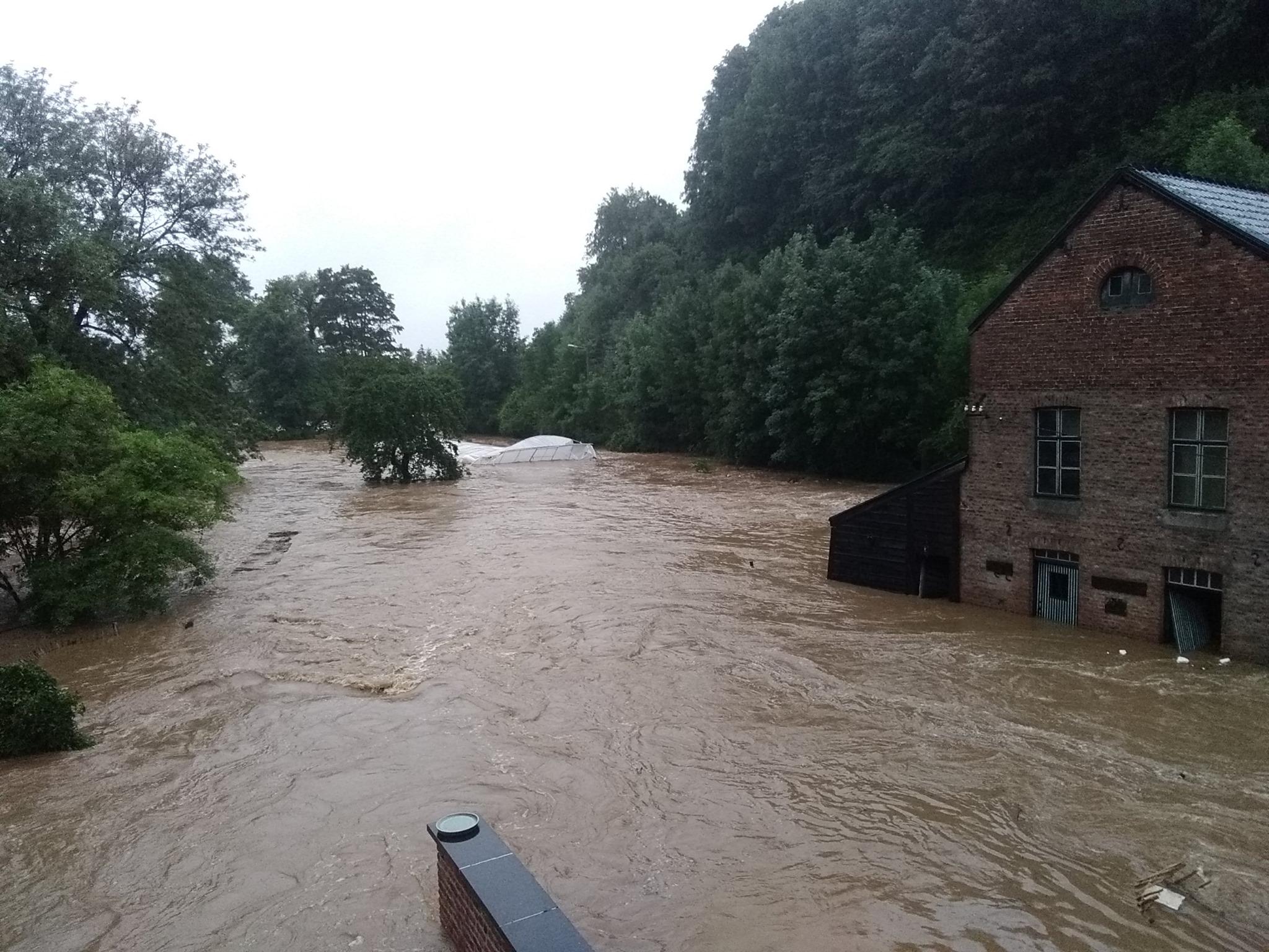 inondation belgique 2021 ( source Facebook)